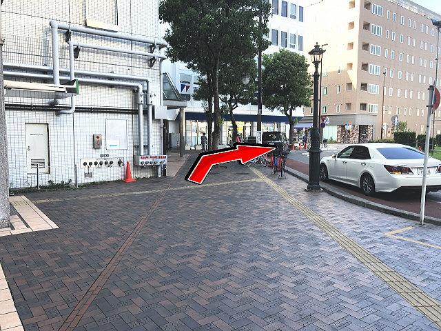 熊谷駅東口を左回り