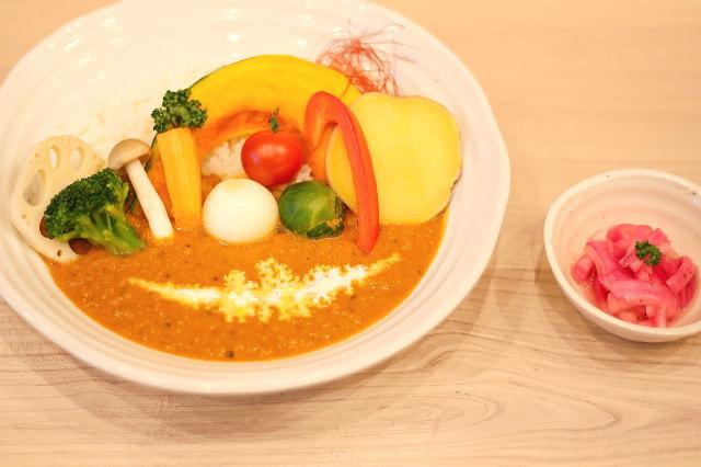 ランチ 野菜カレー