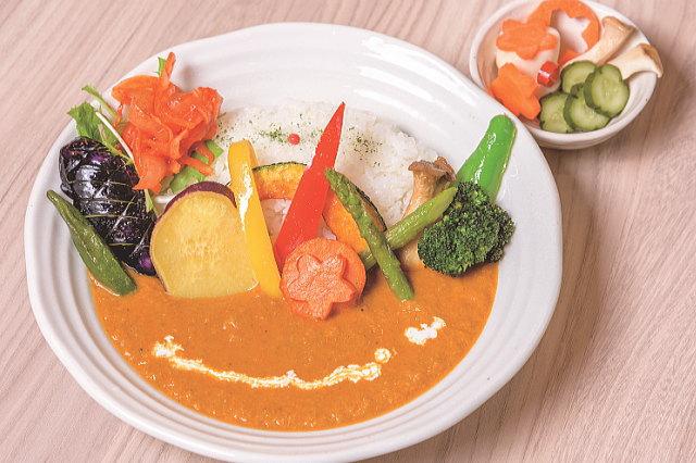 お野菜カレー & 副菜一品